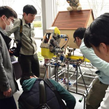 神戸高専ロボ研さんを訪問しました