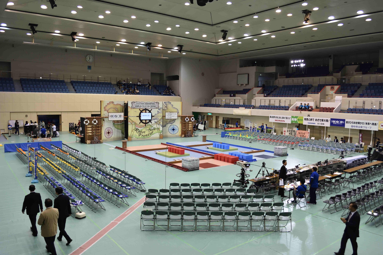 高専ロボコン2016近畿地区大会 2年連続全国大会出場!   明石 ...